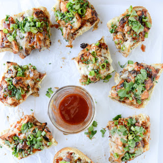 BBQ Chicken French Breads.