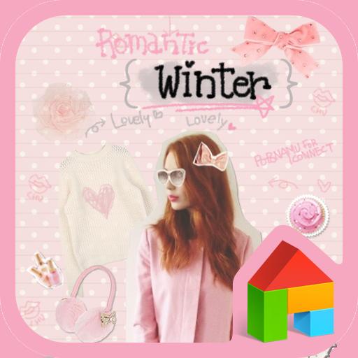 ロマンチック冬ドドルランチャのテーマ 個人化 App LOGO-硬是要APP