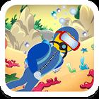 海のダイバー。子供のための無料ゲーム icon