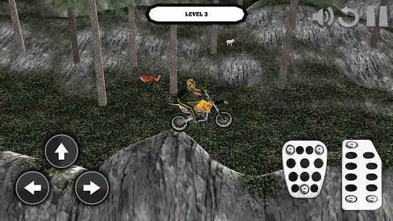 Motocross Bike: 3D Mountains