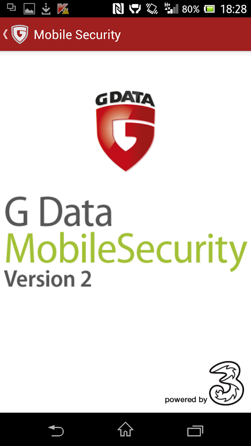 G Data – Mobile Security - screenshot