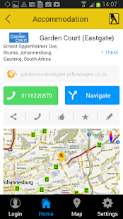 Yellow Pages South Africa - screenshot thumbnail