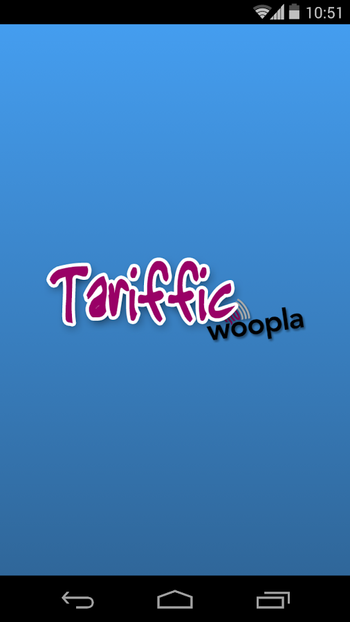 Tariffic - cheap calls- screenshot