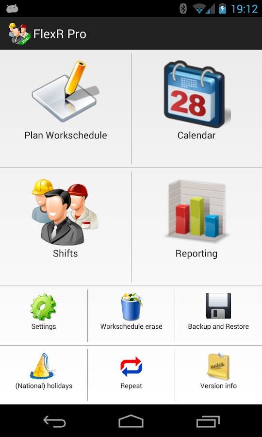 FlexR Pro (Shift planner) - screenshot