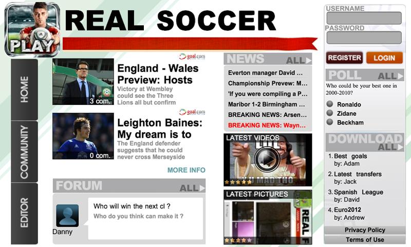 Real Soccer 2012 screenshot #13