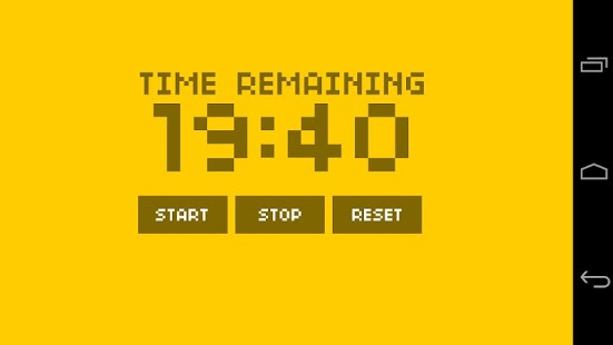Bike Interval Clock - screenshot thumbnail