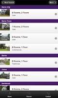 Screenshot of BCK Real Estate Mobile