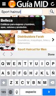 Guia MID Directorio de Mérida - screenshot thumbnail