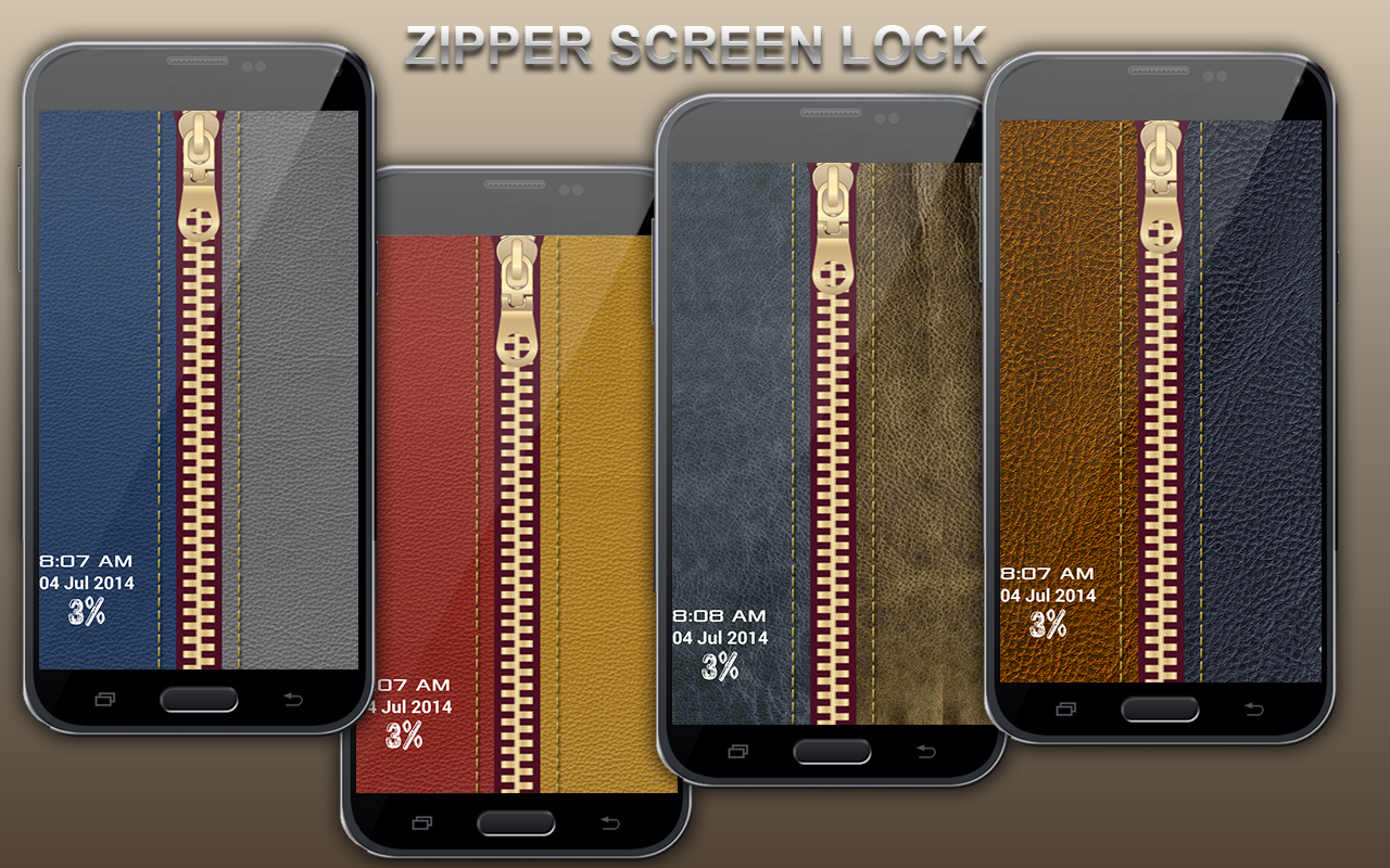 Zip Screen Lock - screenshot