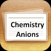 Chemistry Anions FlashcardPlus