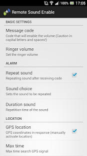 Remote Sound Enable- screenshot thumbnail