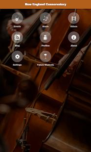 New England Conservatory screenshot