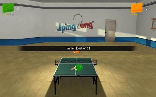 JPingPong Table Tennis Free Screenshot 2