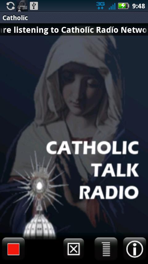Catholic Radio Network - screenshot