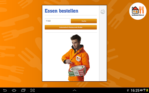 Lieferservice.at - screenshot thumbnail