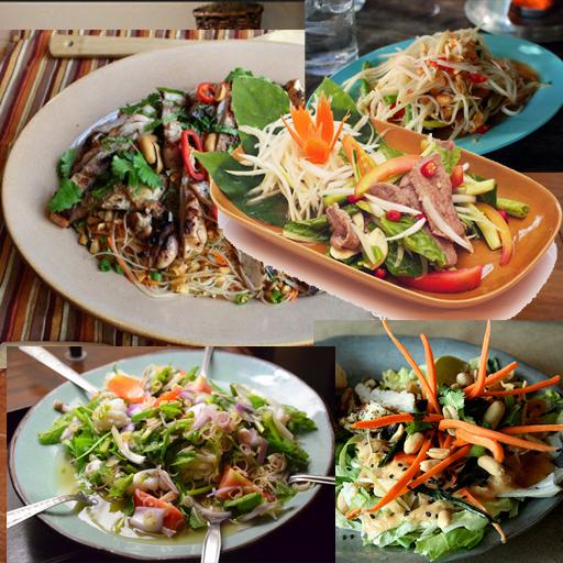 Thai Salad Recipes 健康 App LOGO-APP試玩