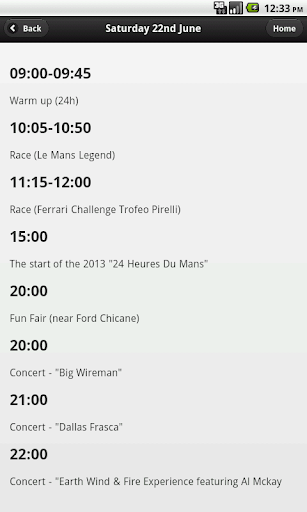 Unofficial Le Mans 24h Guide  screenshots 2
