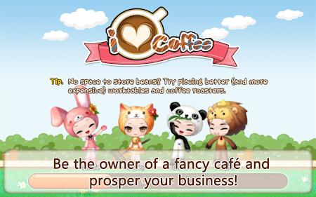LINE I Love Coffee 1.1.1 screenshot 10407