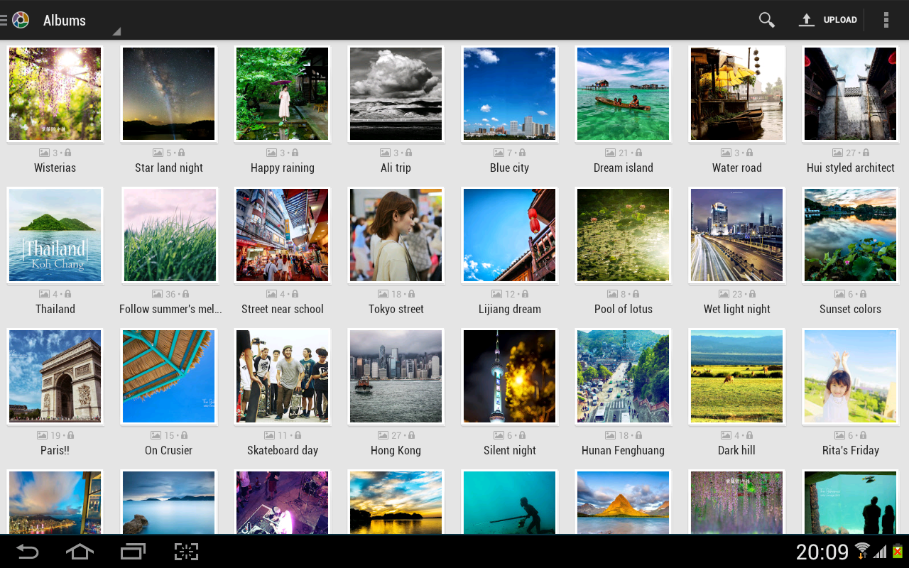 Tool for Picasa, Google+ Photo - screenshot