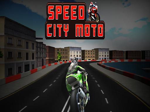 オートバイゲームレーシング3D
