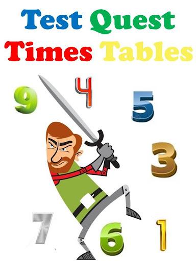 Times Tables Test Quest