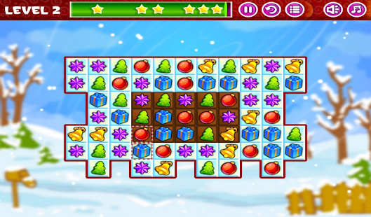 Christmas Sweeper - Match 3- screenshot thumbnail