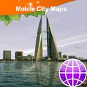 Bahrain Street Map logo