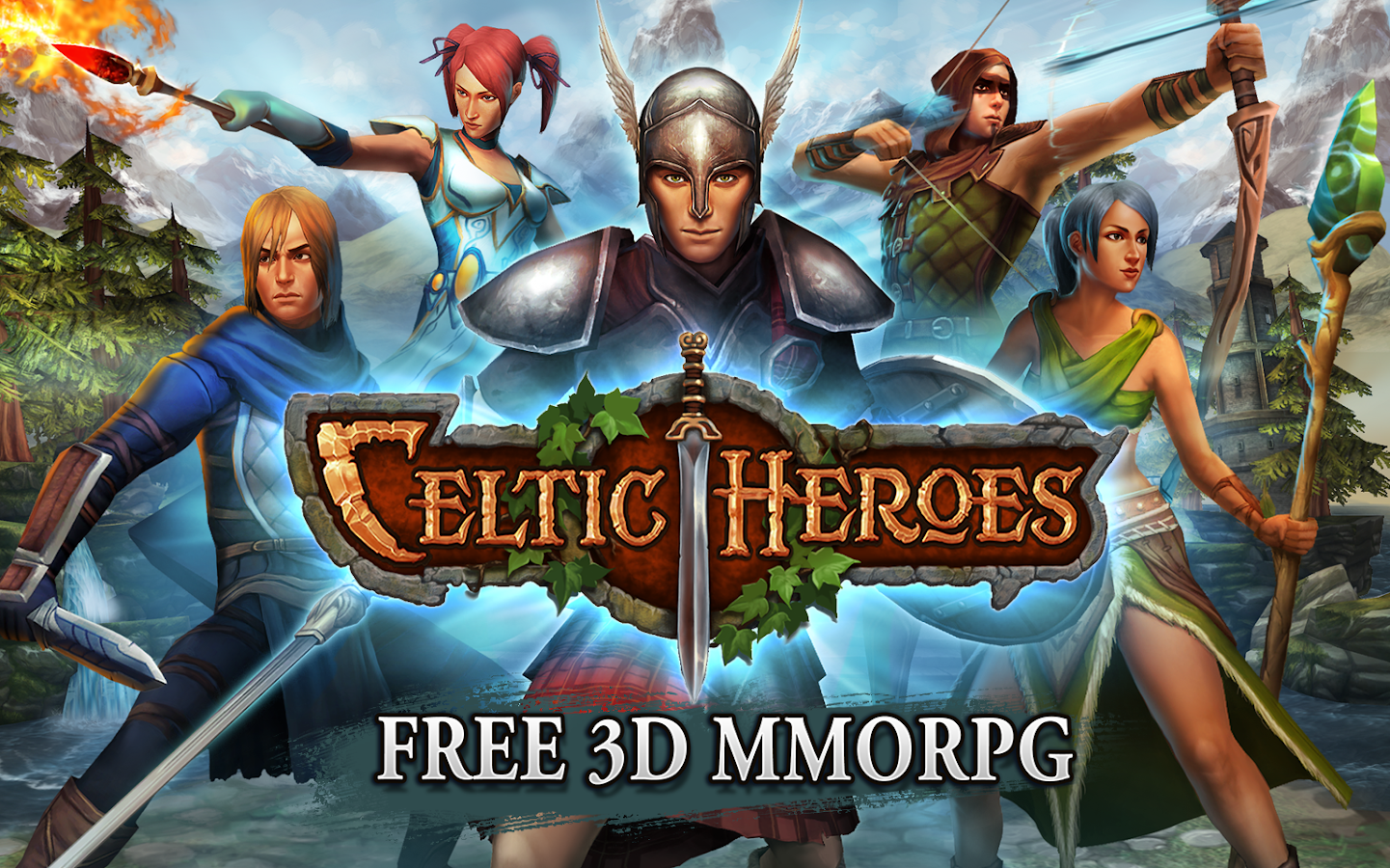 3D MMO Celtic Heroes - screenshot