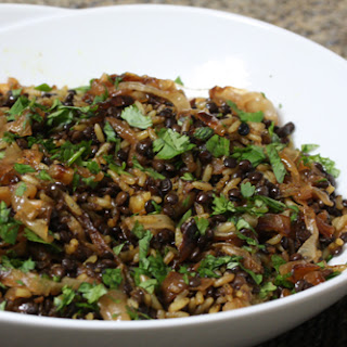 Lentils and Rice.