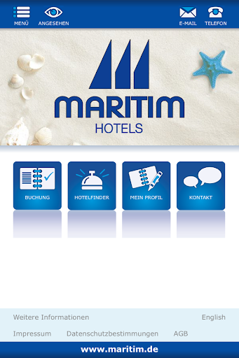 Maritim Hotels App