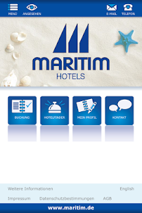 Maritim Hotels App- screenshot thumbnail