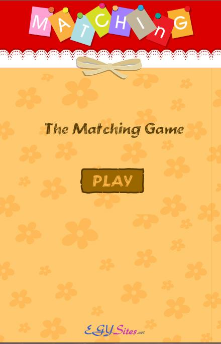 egysite Matching Cards- screenshot