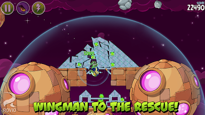 Angry Birds Space Premium Screenshot 42