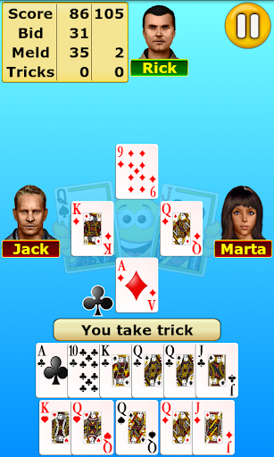 Pinochle  gameplay | by HackJr.Pw 3