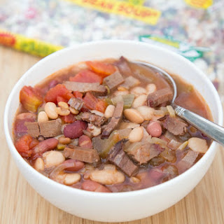 Smoky Brisket & Cajun 15 Bean Soup