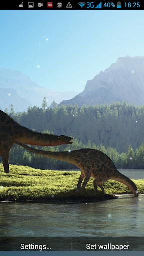恐竜ライブ壁紙