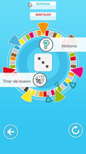 Trivial party: juego preguntas