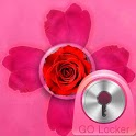 GO Locker Theme Pink Cute Rose icon