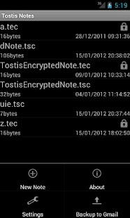Tostis Notes Pro - screenshot thumbnail