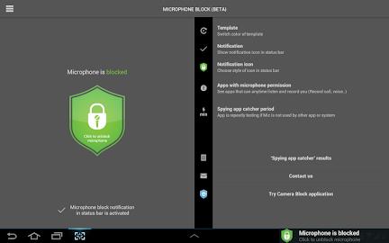Mic Block - Anti spy & malware Screenshot 30