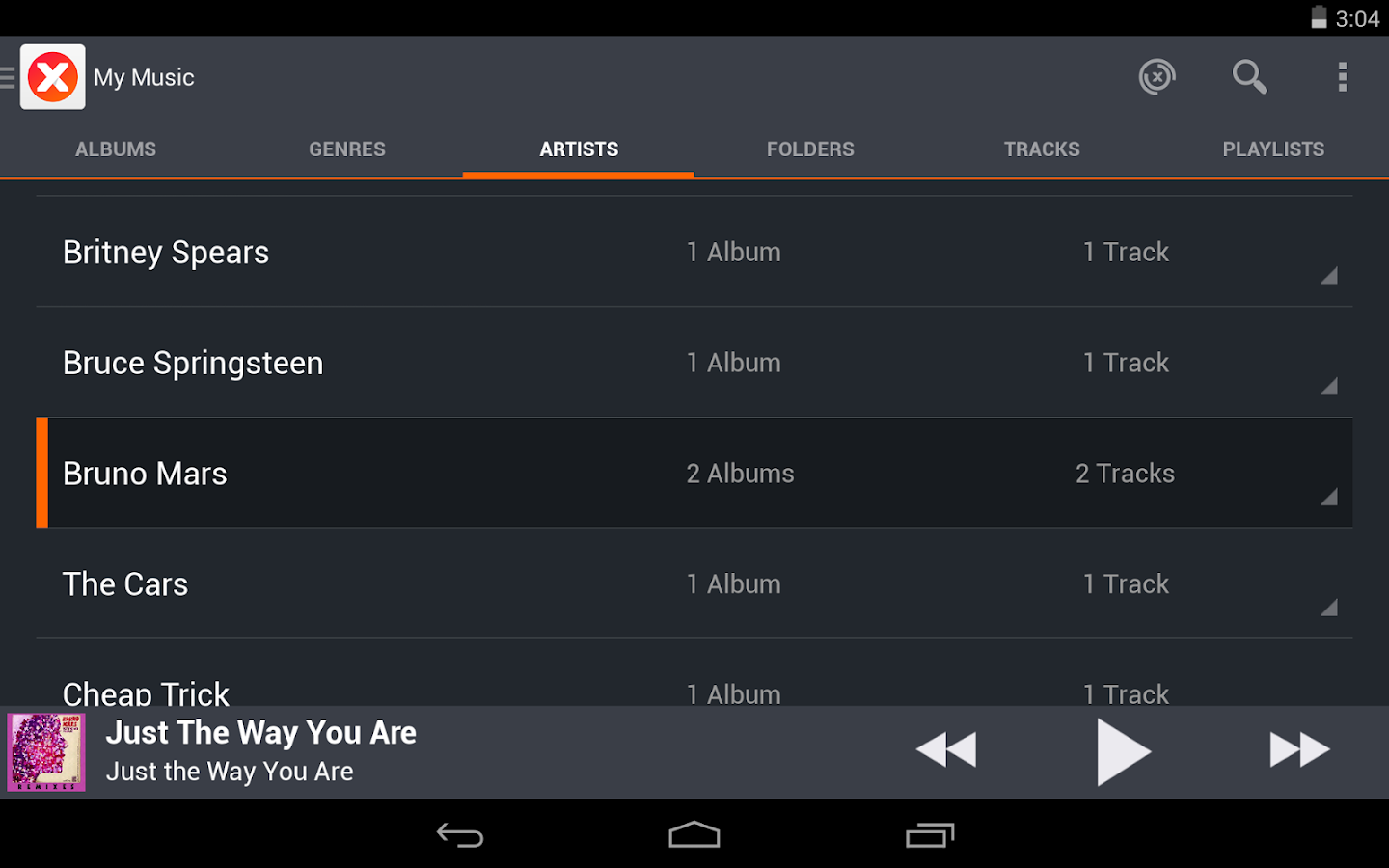 musiXmatch Music Lyrics Player - screenshot