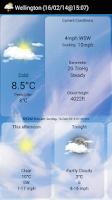 Screenshot of WeatherView Free