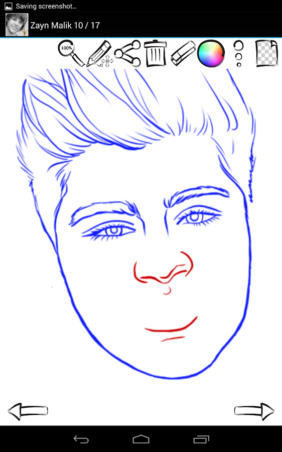 How to Draw: Famous Singers - screenshot