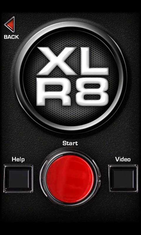XLR8 - screenshot