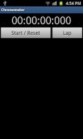 Screenshot of Chrono