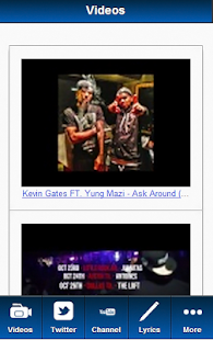 Kevin Gates Blue Fan - screenshot thumbnail