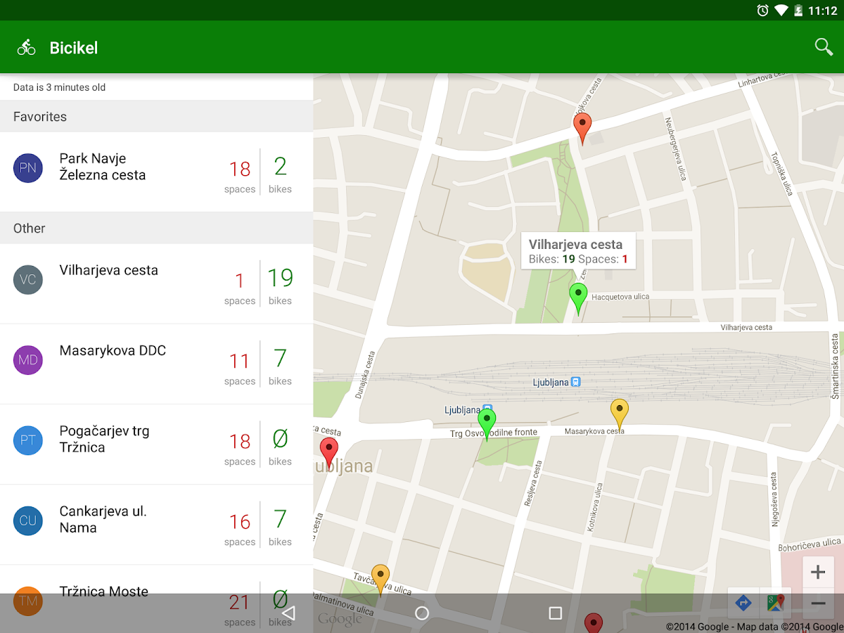 Bicikelj - screenshot