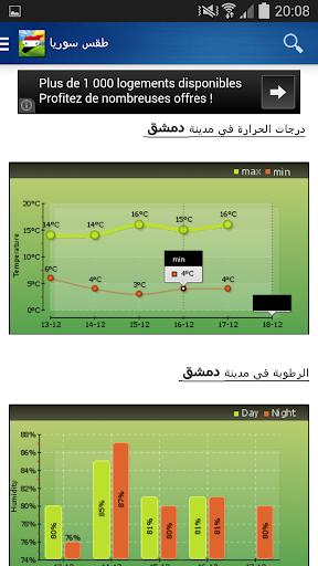 Syria Weather - Arabic 9.0.101 screenshots 3