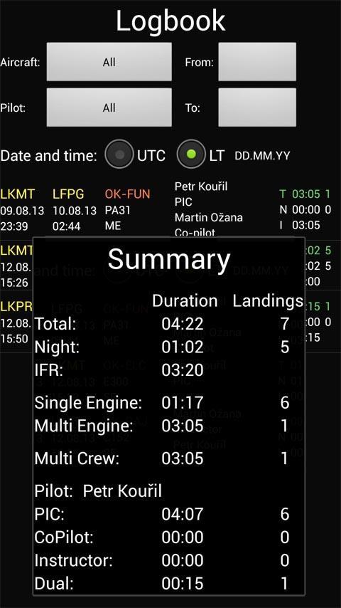 FLY is FUN Aviation Navigation Screenshot 6