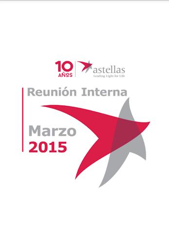 Reunión interna Astellas 2015